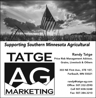 Supporting SouthernMinnesota Agricultural