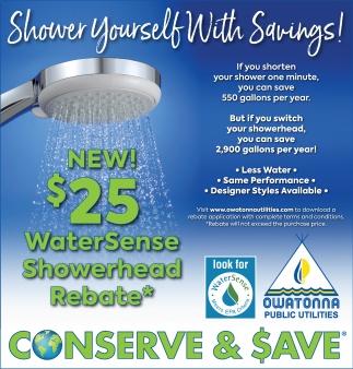 Conserve & Save