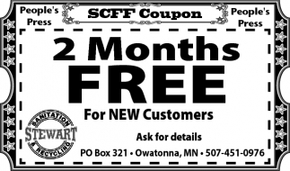 2 Months Free for new customers