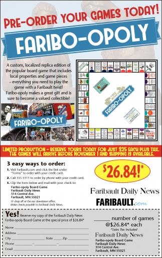Faribo-Opoly