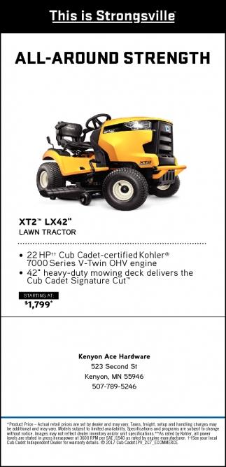 XT2 LX42 Lawn Tractor