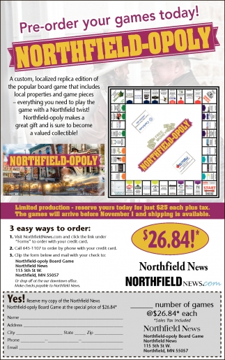 Northfield-Opoly