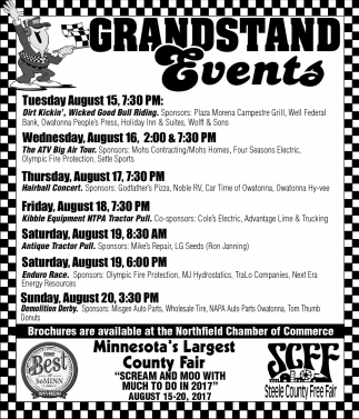 Grandstand Events