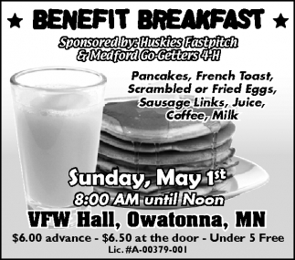 BENEFIT BREAKFAST