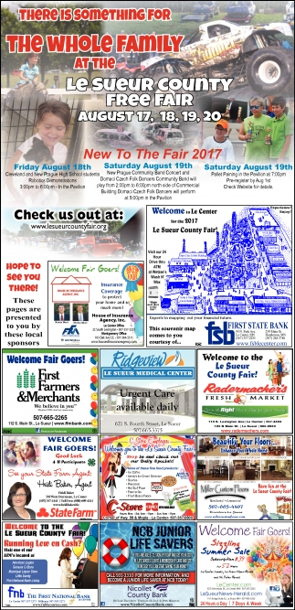 There is Something for The Whole Family at Le Sueur County Fair