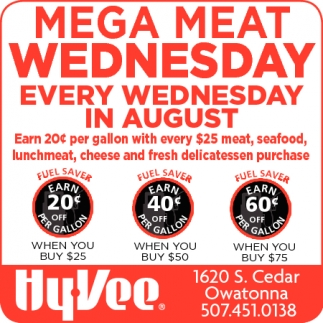Mega Meat Wednesday
