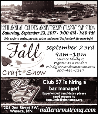 12th Annual Golden Anniversary Classic Car Show