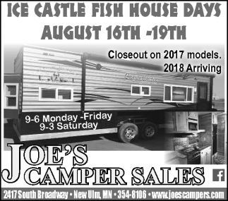 Ice Castle Fish House Days