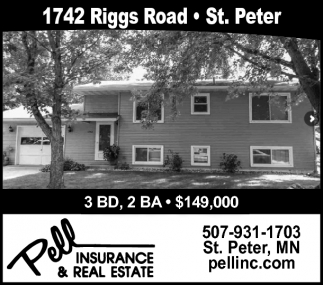 1742 Riggs Road, St. Peter