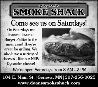 Come see us on Saturdays!