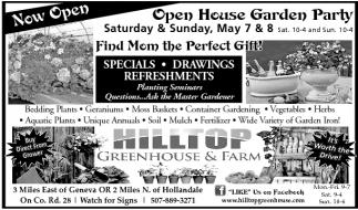 Open House Garden Party