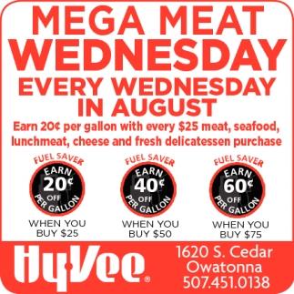 Mega Meat Wednesday