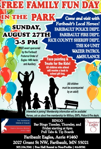 Free Family Fun Day in The Park