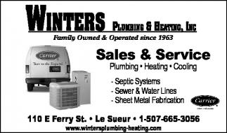 Plumbing, Heating, Cooling