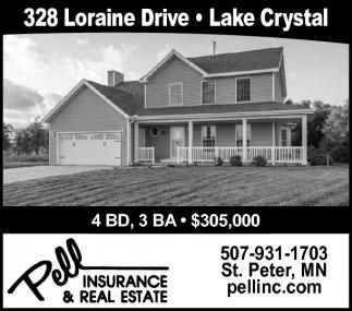 328 Loraine Drive, Lake Crystal