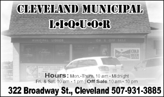 Cleveland Municipal Liquor, City of Cleveland