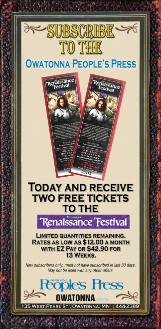 Two Free Tickets to the Renaissance Festival