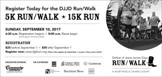 Defeat of Jesse James Days Run/Walk