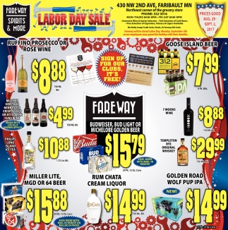 Labor Day Sale, Fareway Food Stores, Owatonna, MN