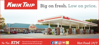 Hot Food 24/7, Kwik Trip, Faribault, MN