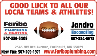 Good Luck to all ourlocal teams & athletes!