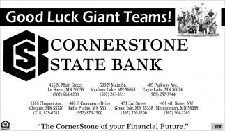 Good Luck Giant Teams!