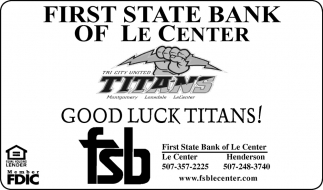 Good Luck Titans!
