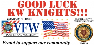 Good Luck KW Knights!!