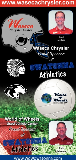 Proud Sponsor of Owatonna Athletics