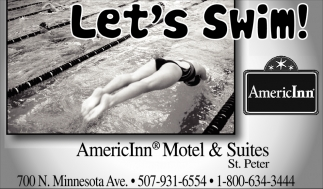 Let's Swim! AmericInn Hotel & Suites