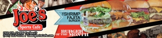 The Shrimp Fajita Burger
