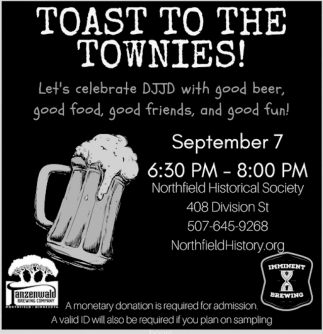 Celebrate DJJD with good beer, food and friends