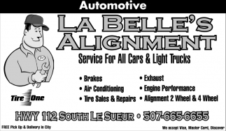 Service For All Cars & Light Trucks