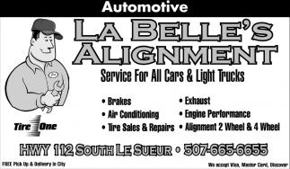 Service For All Cars & Light Trucks