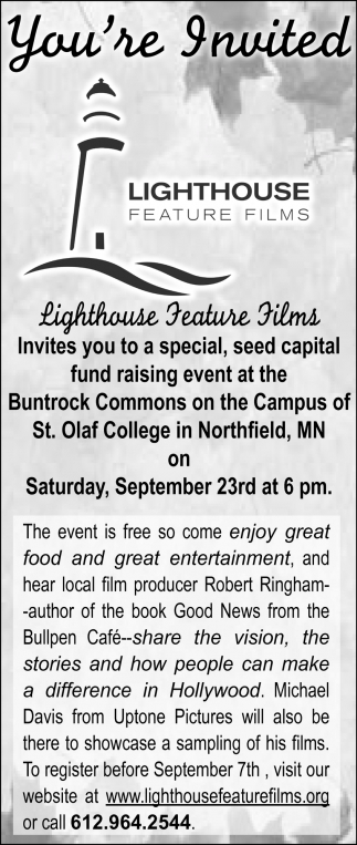 Lighthouse Feature Films, Lighthouse Natural Health Center, Minneapolis, MN