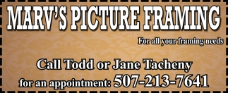 For all your framing needs