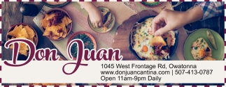 Coupon, Don Juan Cantina