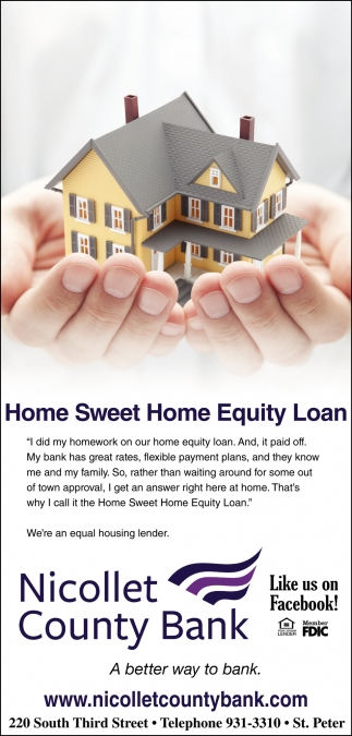 Home Sweet Home Equity Loan