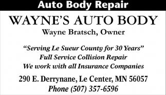 Full Service Collision Repair