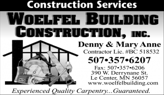 Experienced Quality Carpentry