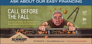 Ask about our easy financing