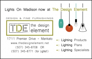 Lights On Madison now at The Design Element, The Design Element