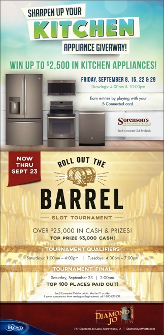 Sharpen Up Your Kitchen Aplliaance Giveaway!