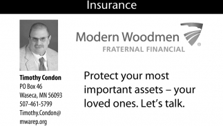 Insurance, Modern Woodmen Fraternal Financial: Timothy Condon