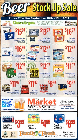 Beer Stock Up Sale