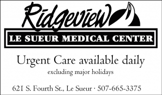 Urgent Care available daily