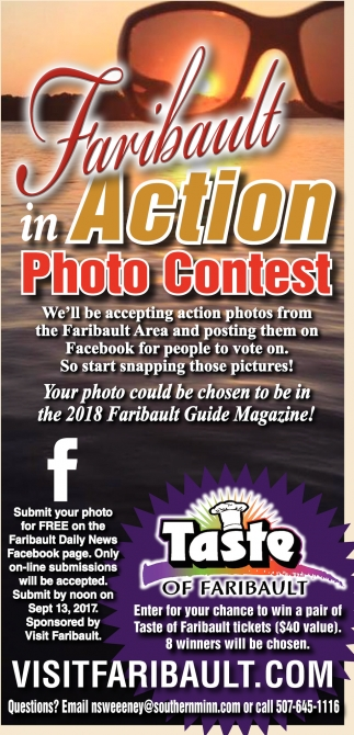 Faribault in Action Photo Contest