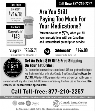 Are you Still Paying Too Much For Your Medications?