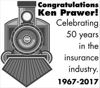 50 Years in the insurance industry, Ken Prawer
