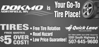 Your Go-To Tire Place!